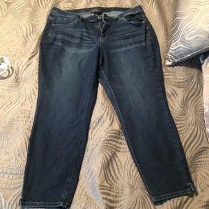 Lane Bryant Cropped Stretch Jeans